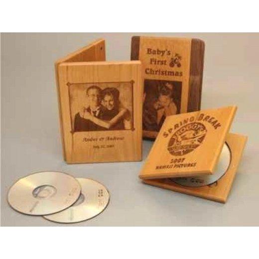 Hộp Đựng CD Gỗ