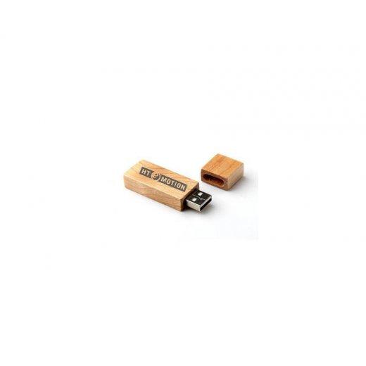 USB 2GB gỗ hình chữ nhật