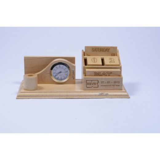 Lịch gỗ để bàn