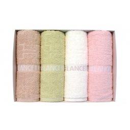 Bộ 4 khăn Songwol - LANCETTI LOGO PATTERN FACE
