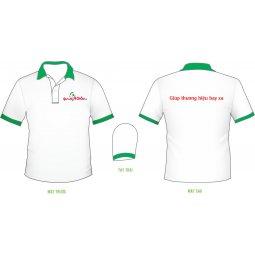 Quà tặng áo thun 100% cotton khi khách đến cty giao dịch