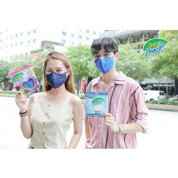 New: Khẩu trang vải 4 lớp màng lọc than hoạt tính Asia Mask